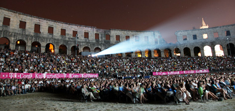 7000 visitors in Arena at Pula Film Festival